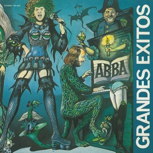ABBA Grandes Exitos Vinyl Record LP Spanish Carnaby 1976